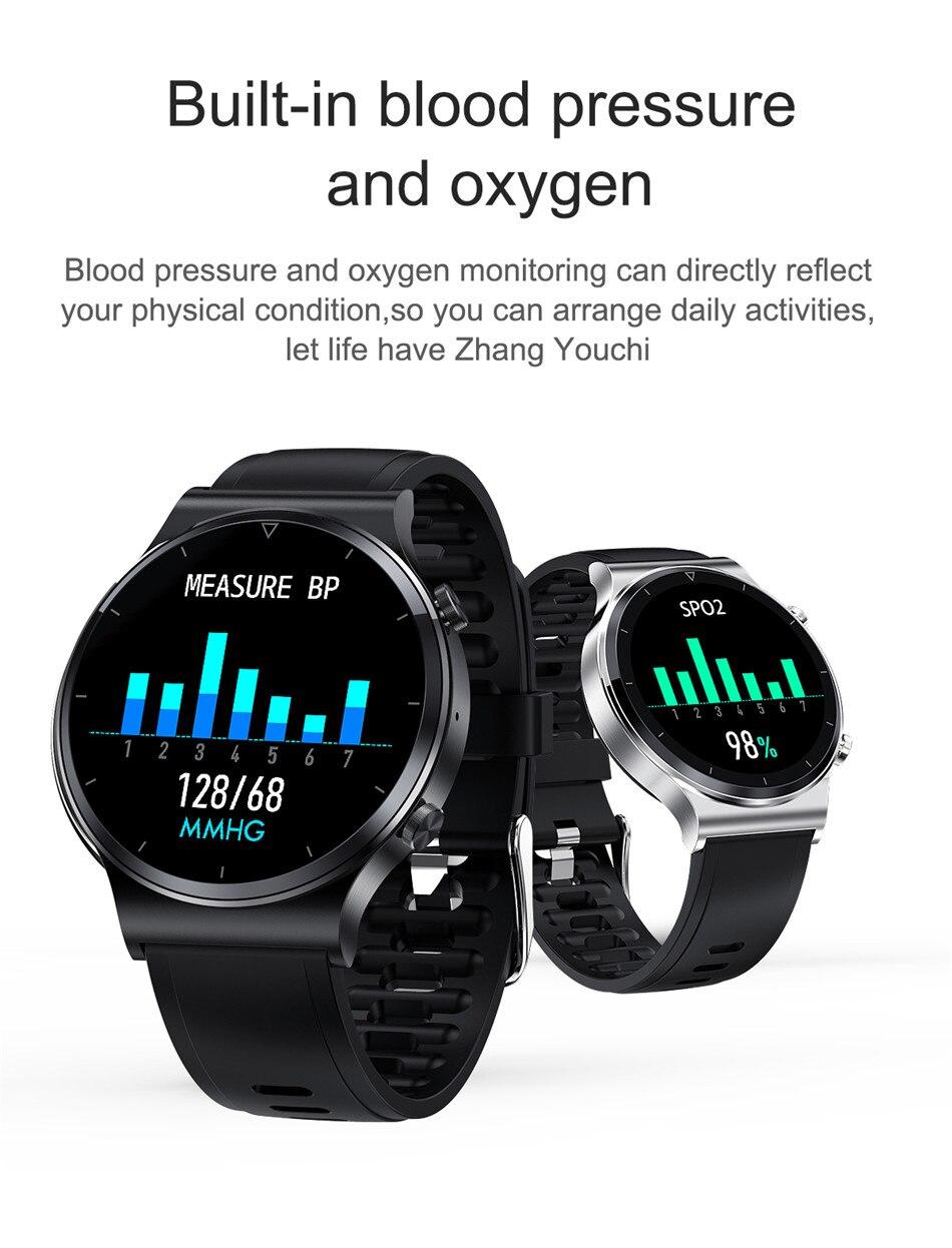 cardíaca tempo empurrar ip68 à prova dip68 água smartwatch