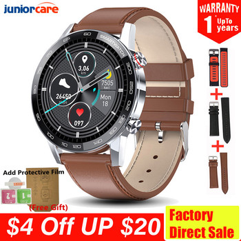 PL16 Smart Watch Men ECG PPG IP68 Waterproof Smartwatch 1.3inch 360*360 HD Full touch screen Fitness Sports watchs VS L13