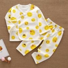 Baby Girls' Boys' Pajamas Tee and Pant 2-Piece Pajamas Set 100% Organic Cotton T5EC