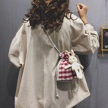 Fashion Bucket Small Bags Crossbody Bag Women 2019 New Canvas for Shoulder