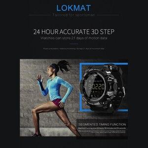 Image 5 - Lokmat mk16 relógio smartwatch unissex, relógio inteligente, el luminoso, esportivo, bt, monitoramento de atividades esportivas, para android/ios