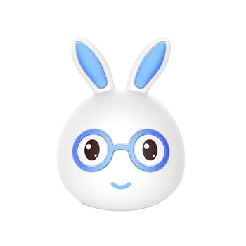 Cute Rabbit Lamp Light USB Table Lamp Cartoon LED Charging Silicone Night Light for Children Adults Bedroom creative strawberry silicone led night light eye protection touch atmosphere lamp children cartoon usb charging table lamp