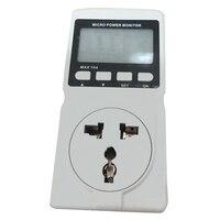 Lcd Micro Power Meter Analyzer Monitor Digital Power Meter Gm86 Power Meter Power Monitor Messung Buchse  Uns Stecker-in Solarstrommesser aus Werkzeug bei