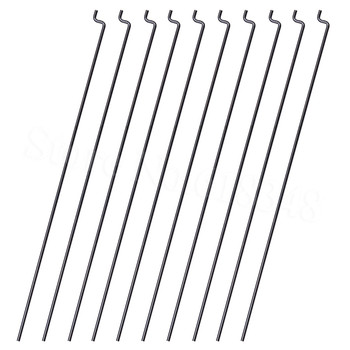 Z Style Pushrod D1.2x120mm / 140mm / 160mm / 180mm Steel Wire Pull Link Accessories for RC Airplane image