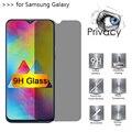 Стекло 9H для телефона, защита экрана от шпионов для Galaxy A10E 20E 40S, закаленное стекло для Samsung A10 20 30 40 50 60 70 80 90