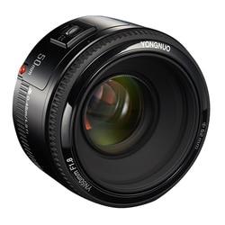 YONGNUO YN EF 50mm f/1.8 AF Lens 1:1.8 Standard Prime Lens Aperture Auto Focus for Canon EOS DSLR Cameras Lens