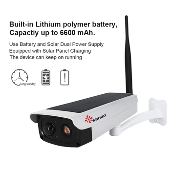 SANAN 1080P Водонепроницаемая уличная vedio surveilliance Wifi камера на солнечных батареях Беспроводная cctv камера беспроводная IP камера безопасности