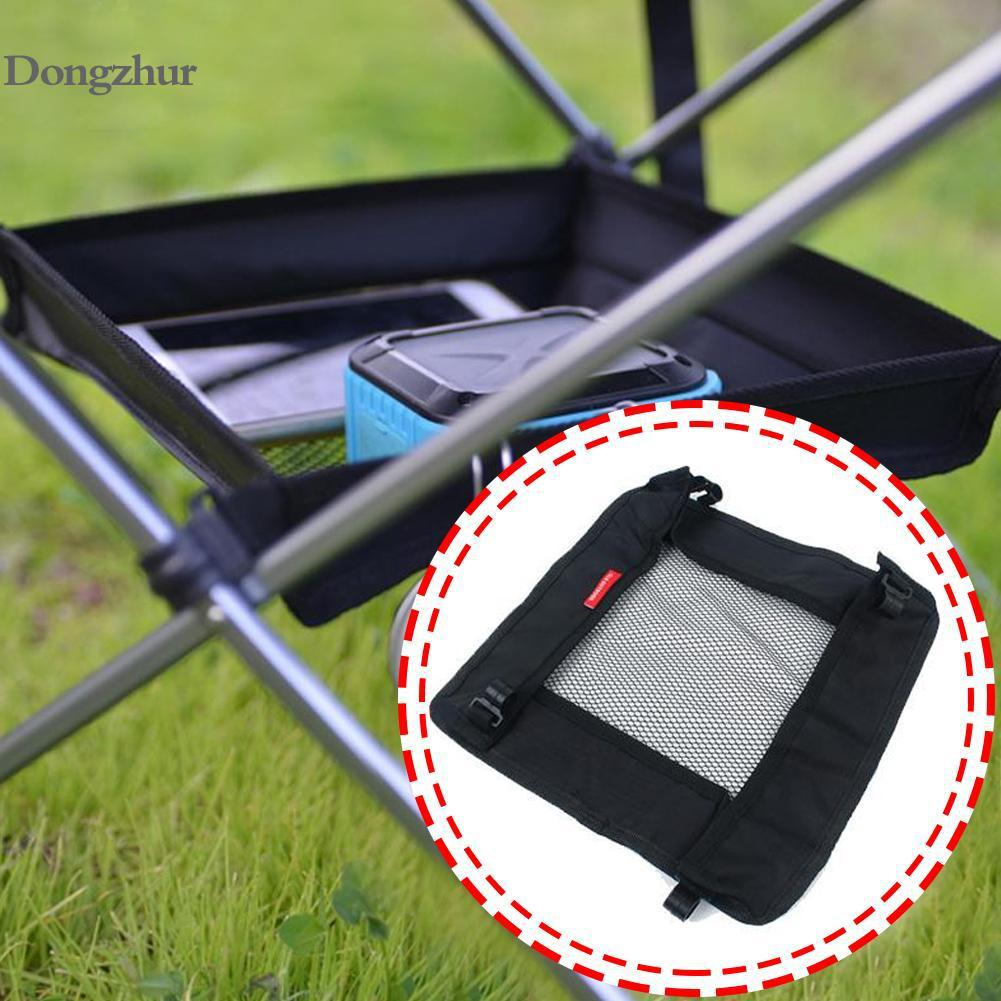 Folding Table Storage Hanging Basket Outdoor Wild Rack Camping Bag Finishing Net For Chair Picnic Table Hanger Storage Basket