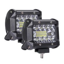 Car LED Light Bar 4x4 Accessories Off Road 400W Working Lamp Running Lights for Cars ATV SUV Boat Tractor Truck Fog Bulb LED