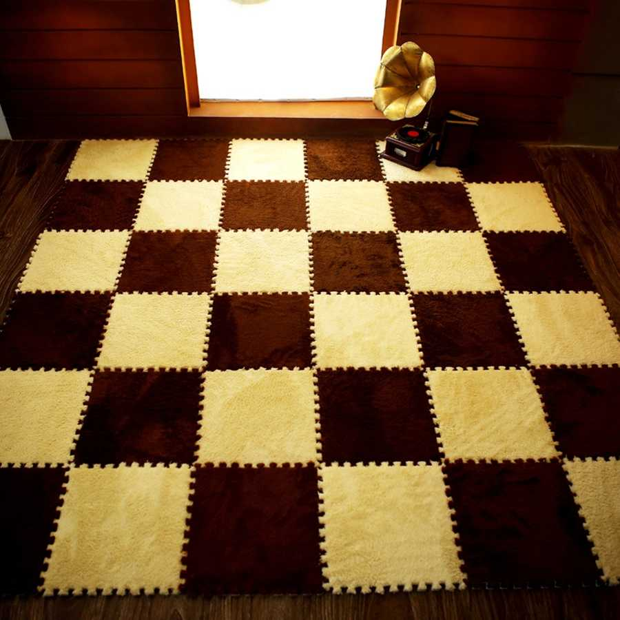 10/12/30 Pcs DIY 30*30*1cm Wohnzimmer schlafzimmer Kinder Kinder Weichen Teppich Magie Patchwork jigsaw Splice Köpfe Baby Klettern Matte
