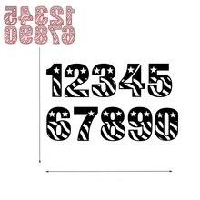 10pcs Circle Lace Numbers Metal Dies Scrapbooking Cutting 2018 Craft Stamps die Cut Embossing Card Make Stencil Frame