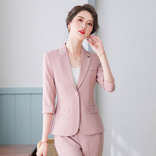 Summer Office Trouser Suits for Women Summer Pant Suits Shor