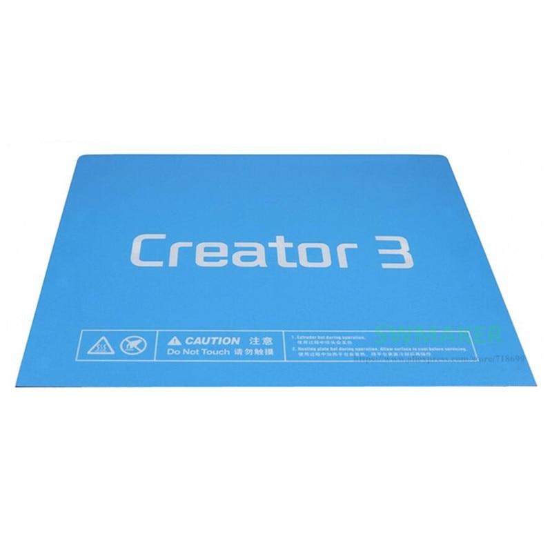 5pcs Blue Build Tape Surface Print Sticker For Flashforge Creator 3 3D Printer Build Plate Parts