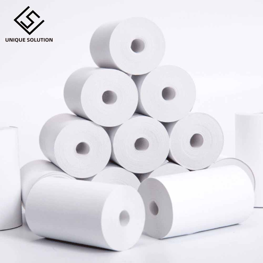 For PAPERANG Thermal Printing Paper 57 * 30 Thermal Label Printing Paper POS Bill Cash Register Paper 4 Rolls Free Shipping