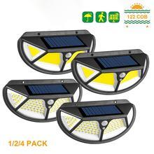 Новый 122 cob солнечный светильник уличный Солнечная лампа с
