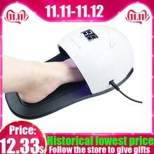 נייל מייבש 48W UV מנורת קשת 4 עבור ג ל לכה ייבוש עם 30pcs נוריות מהיר יבש נייל מכונת עם רגליים תחתון