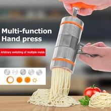 Pasta-Machine Noodle-Maker-Tools Press Spaghetti-Crank Cutting Stainless-Steel Kitchen
