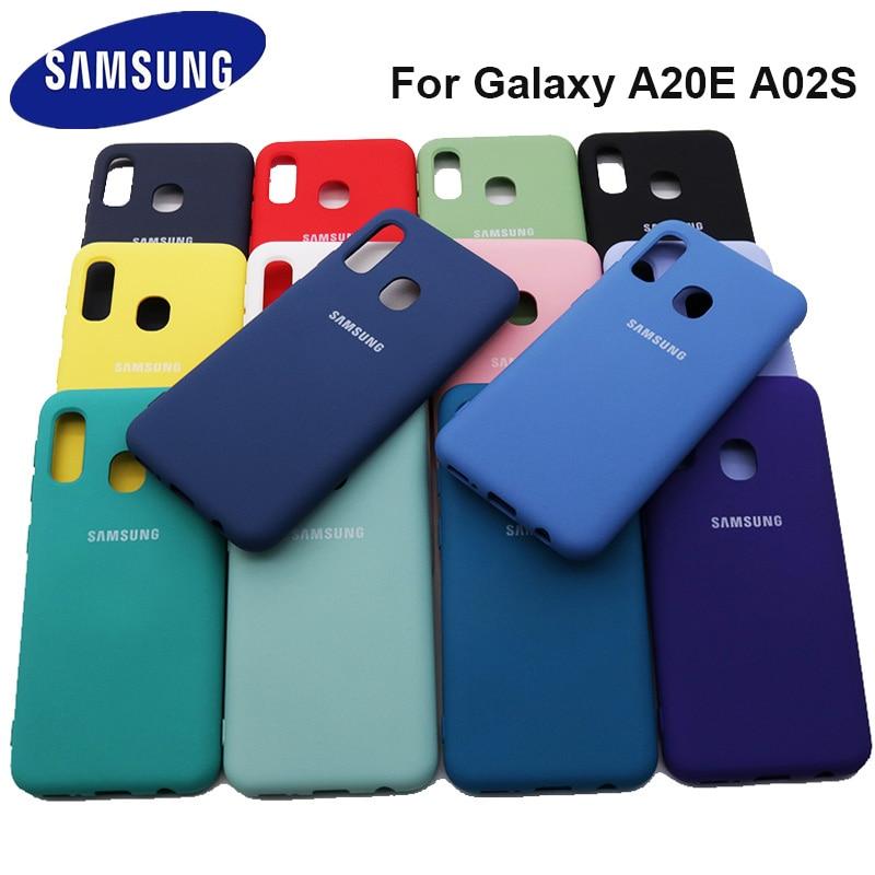 Чехол для Samsung Galaxy A20E A02S, силиконовая задняя крышка для Samsung A02 S A205F A20E A 20 E A202F A02S, чехол 14 цветов