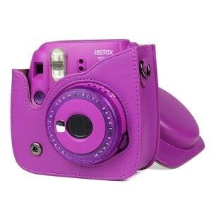 Image 5 - Fujifilm Instax Mini 9 Film Instant Kamera Trauben Rosa Schwarz + 20 Blätter Mini 8 Weiß Filme + Abdeckung + album + 10Pcs DIY Kits