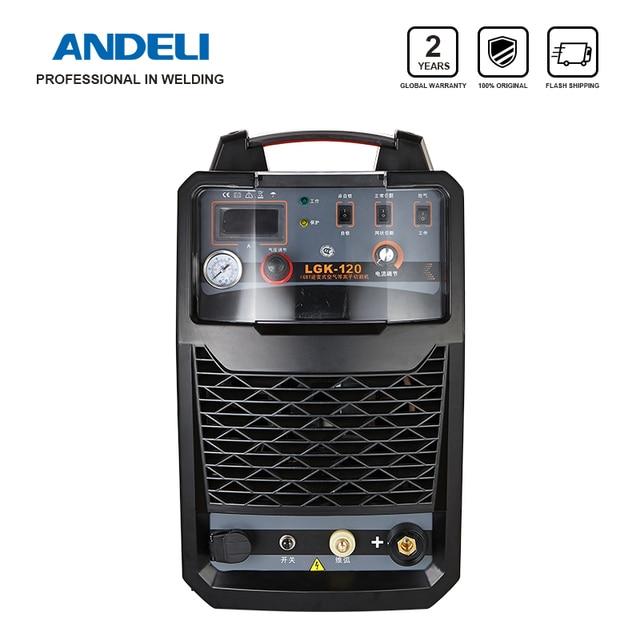 ANDELI 3 Pha Cắt Thép Kim Loại Ống 380V Không Khí Di Động Plasma CNC Cắt Plasma Cut 120