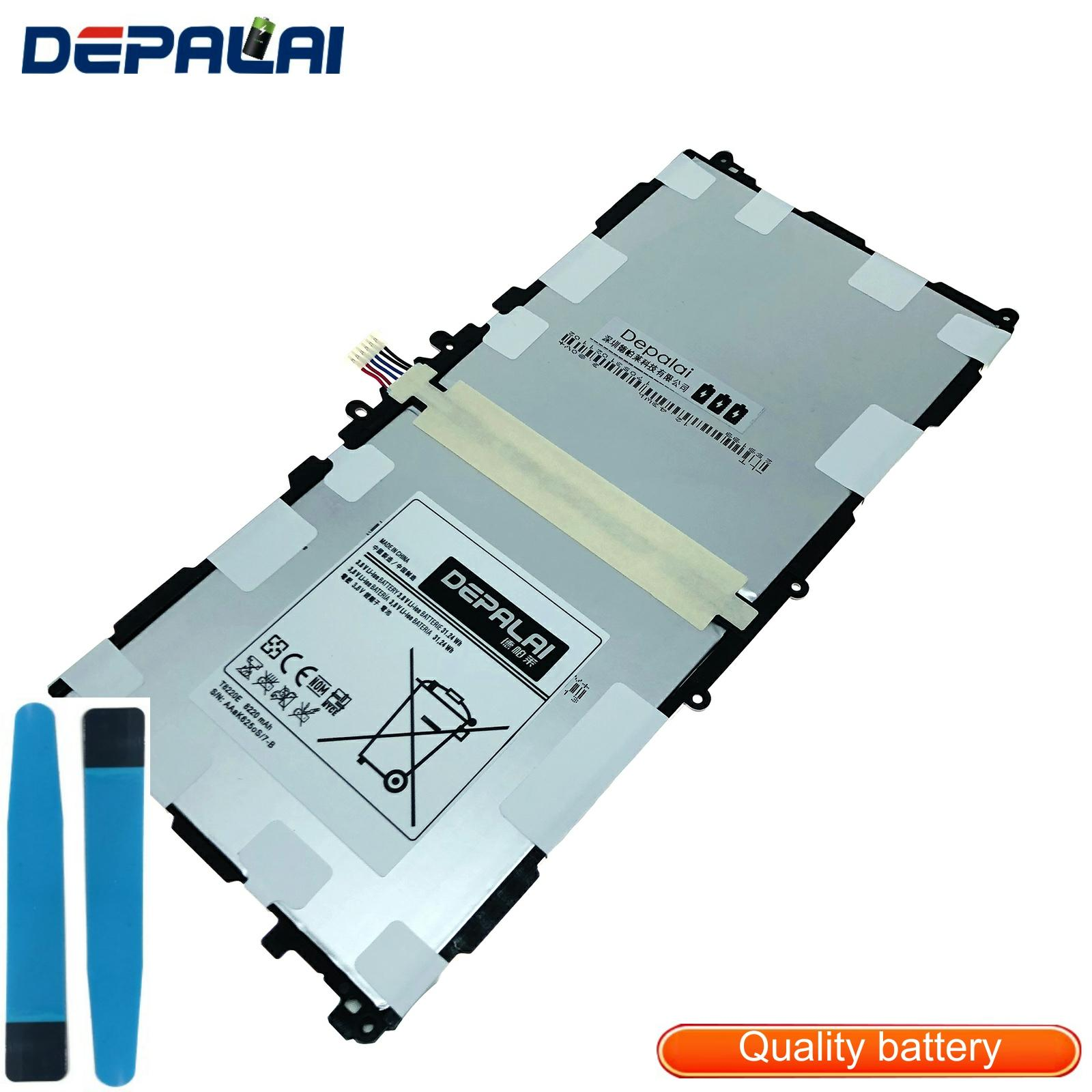 T8220E Tablets Replacement <font><b>Battery</b></font> For <font><b>Samsung</b></font> Galaxy Note 10.1 2014 Edition SM-P601 P600 T520 P601 <font><b>P605</b></font> P607 8220mAh Real image