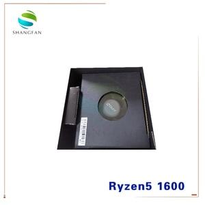 Image 2 - 새로운 AMD Ryzen 5 1600 R5 1600 3.2 GHz 6 코어 12 스레드 65W CPU 프로세서 YD1600BBM6IAE 소켓 AM4 쿨러 냉각 팬