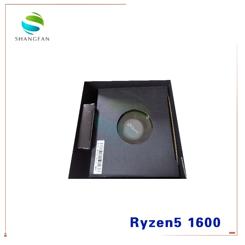 Image 2 - New AMD Ryzen 5 1600 R5 1600 3.2 GHz Six Core Twelve Thread 65W CPU Processor YD1600BBM6IAE Socket AM4 with cooler cooling fan-in CPUs from Computer & Office