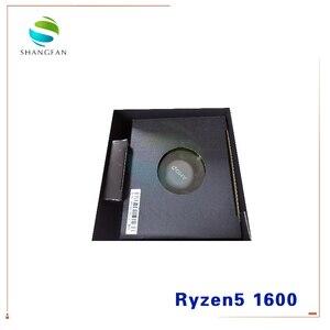 Image 2 - Nieuwe Amd Ryzen 5 1600 R5 1600 3.2 Ghz Zes Core Twaalf Draad 65W Cpu Processor YD1600BBM6IAE Socket AM4 Met Cooler Cooling Fan