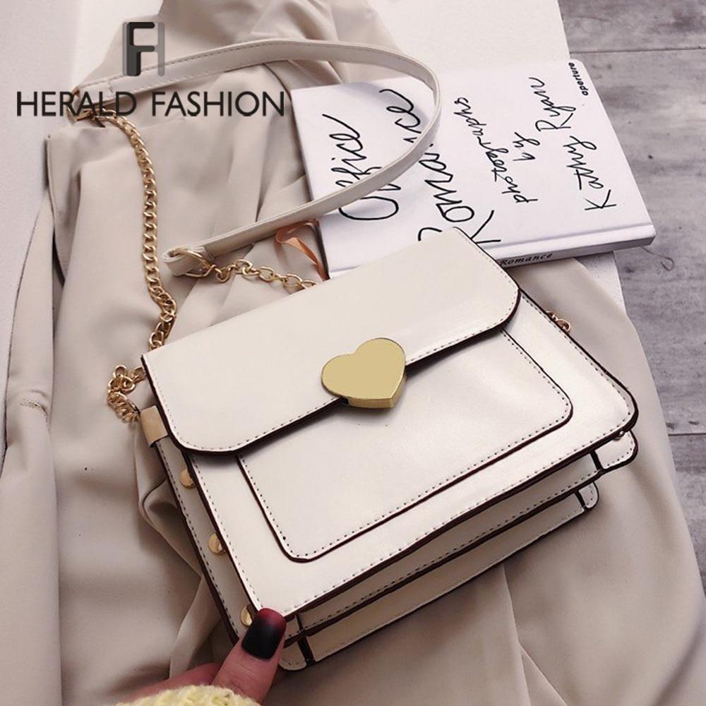 Mini PU Leather Saddle Bags For Women 2020 Small Crossbody Shoulder Messenger Bag Female Handbags Solid Color Cross Body Bag