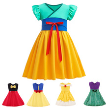 Baby Girl Dress Kids Princess Snow White Minnie Mouse Elsa Clothes Dresses for Girls Childrens Fancy Birthday Costume