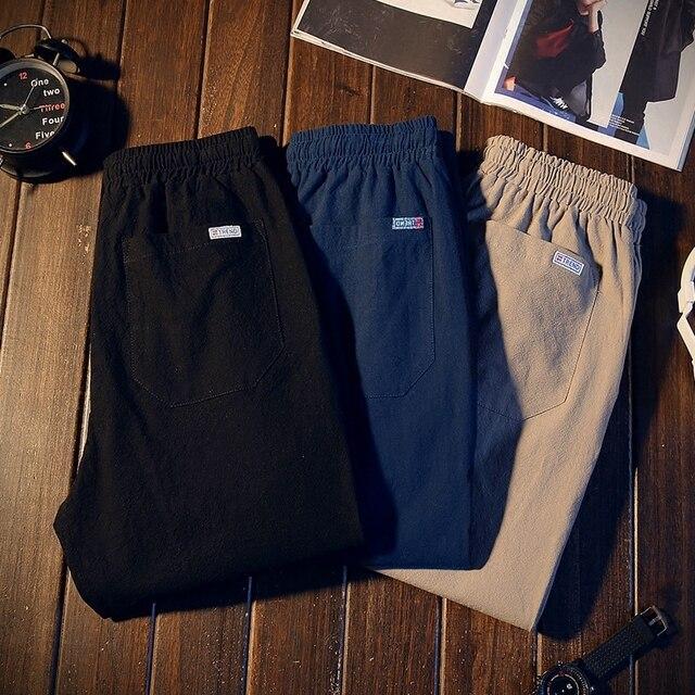 Pantalones largos informales populares para hombre, venta al por mayor, novedad, otoño e invierno, a la moda, MC365, 2019 2