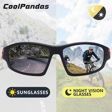 CoolPandas Design Chameleon HD Sunglasses Polarized Men Outdoor Sports
