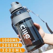 Brand 1000ml BPA Free Sport Drinking Water Bottle with Straw