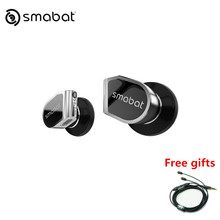 SMABAT ST10s High Impedance Metal Earphones In Ear Hifi Maze Wired Earbuds Mmcx Detachable Cable
