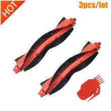 Escova lateral para aspirador xiaomi, escova lateral para xiaomi mijia styj02ym conga 3490 viomi v2 pro V-RVCLM21B, peças e acessórios