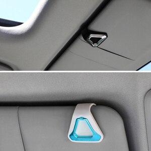 Image 5 - Osłona przeciwsłoneczna klips do odświeżacza samochodowego Auto wyposażenie wnętrza odświeżacz powietrza zapach aromaterapia dekoracja na tylnym siedzeniu samochodu plecak tornister