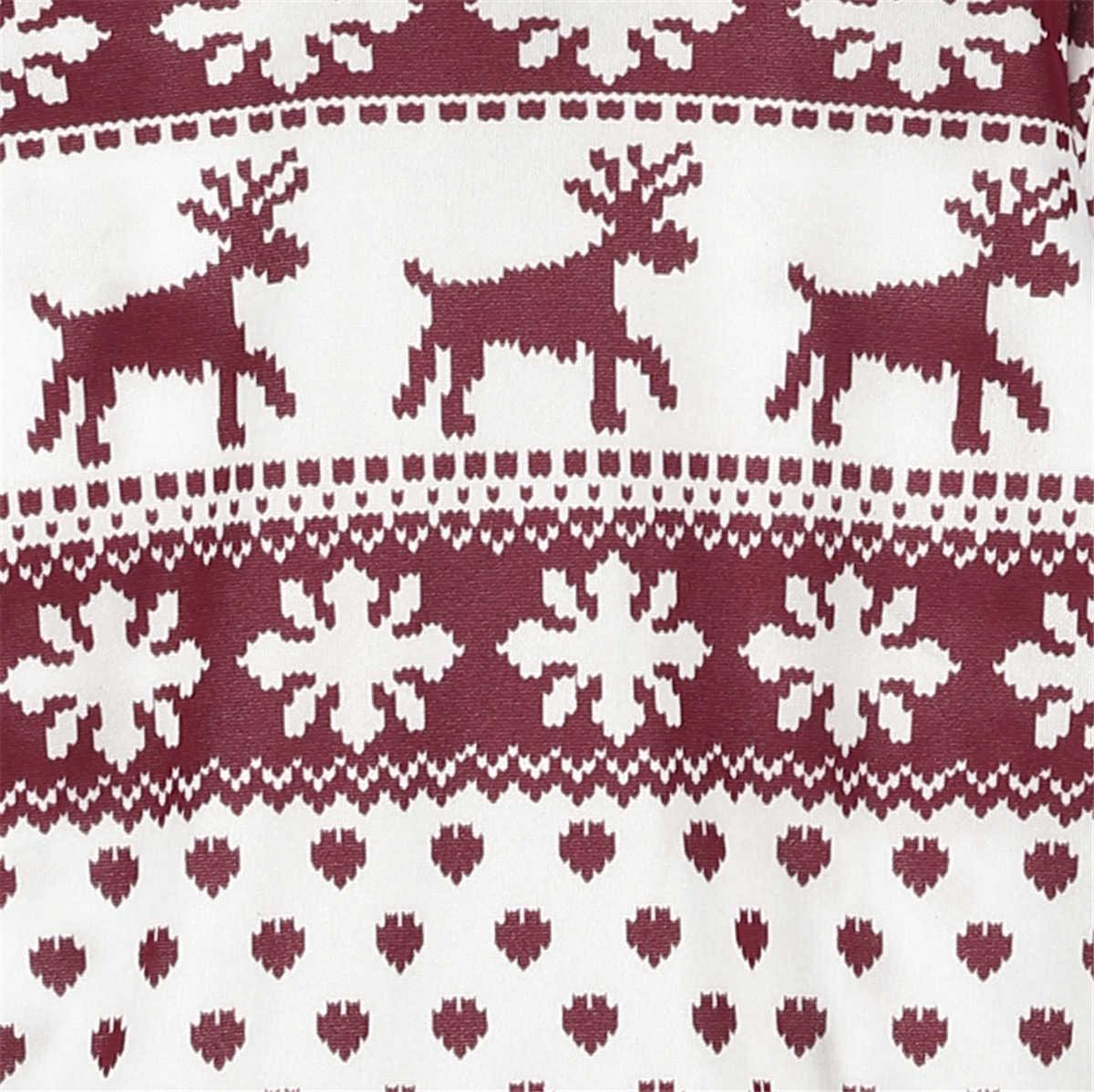 Nouvelle Mode Femmes Dame Pull hauts pullover Manteau D'hiver De Noël