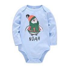Мультфильм животных комбинезоны roupas bebe de новорожденных