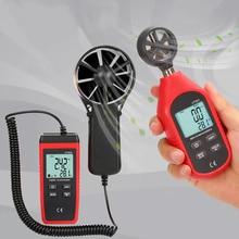 Цифровой термометр Анемометр ручной датчик скорости ветра для пеших прогулок парусный PI669