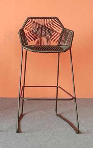 Rattan Chair High Bar Tables And Chairs Outdoor Bar Tables And Chairs Bar Counter Front Stool Rattan High Chair Leisure Balcony
