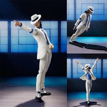 14cm Michael Jackson ICON PVC Figure Jackson Figures Toy Collectable  Action Figures PVC Collection Model Toys action figures toys kunkka lina pudge queen tidehunter cm fv pvc action figures collection dota2 toys