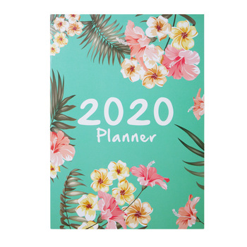 Agendas 2020 Planner Organizer A4 Notebook and Journals DIY 365 Days Plan Note Book Kawaii Monthly Weekly Schedule Writing Book