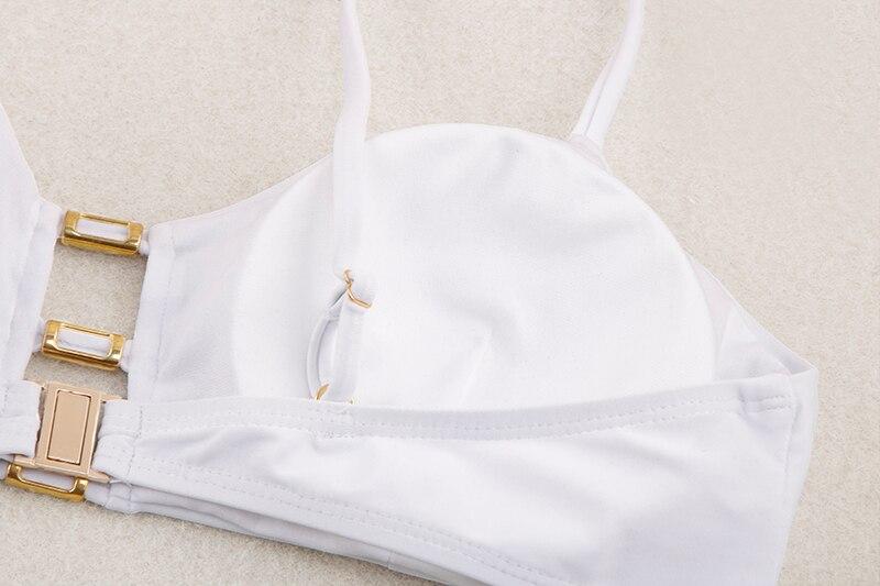 H0562a3461aa940ad8739848f22589493L Miyouj Sexy Bandeau Bikini Bandage Swimwear Women Solid Swimwear 2019 Bathing Suits Rings Bikini Set Hollow Out Biquini Swimwear