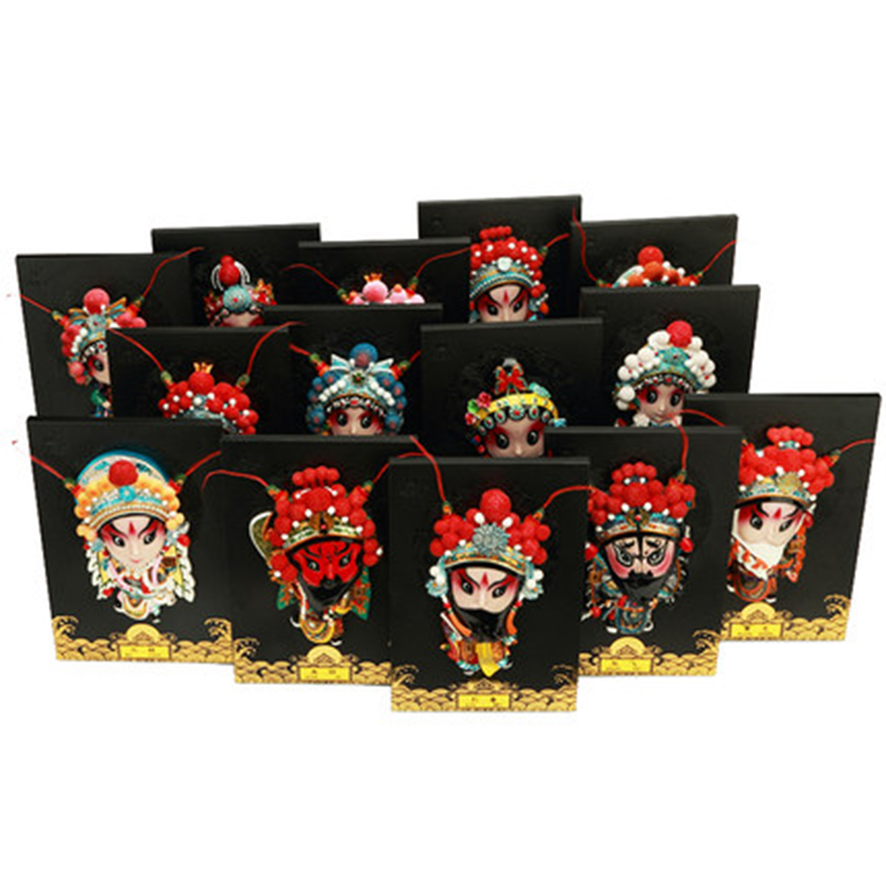 Beijing Opera Facebook swing board card Chinese wind gift Siphoto Chinese characteristic scraft