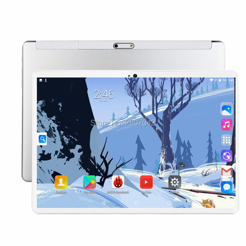 2019 Fast Shipping Android 9.0 Tablet PC Tab Pad 10 Inch IPS 8 Core 6GB RAM 64GB ROM Dual SIM Card LTD Phone Call 10.1