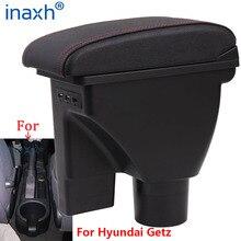 Para hyundai getz braço para hyundai getz carro caixa de apoio de braço peças retrofit dedicado centro armazenamento caixa acessórios do carro
