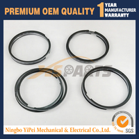 4 Sets STD Piston Ring Set For Kubota V1902 Engine 19274-21050