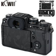 Kiwi Anti Scratch korpus aparatu skóra ochronna zestaw do Fujifilm X T4 cień czarna kamera dekoracji