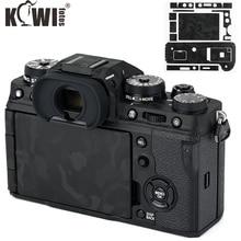 キウイアンチスクラッチカメラボディ保護スキンフィルムキット富士フイルム X T4 シャドーブラックカメラ装飾