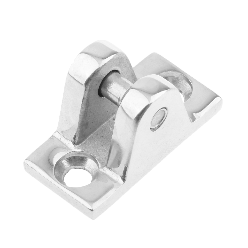 316 Stainless Steel Boat Bimini Top Deck Hinge with Quick Release Pin